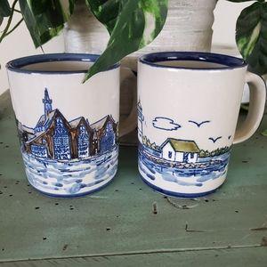 Louisville Stoneware Captain Spicer's mugs